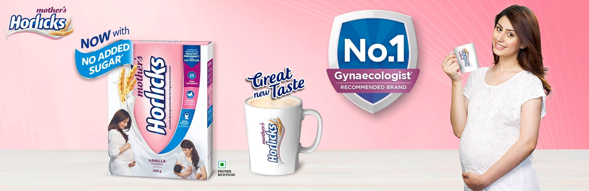 Mothers Horlicks Great New Taste