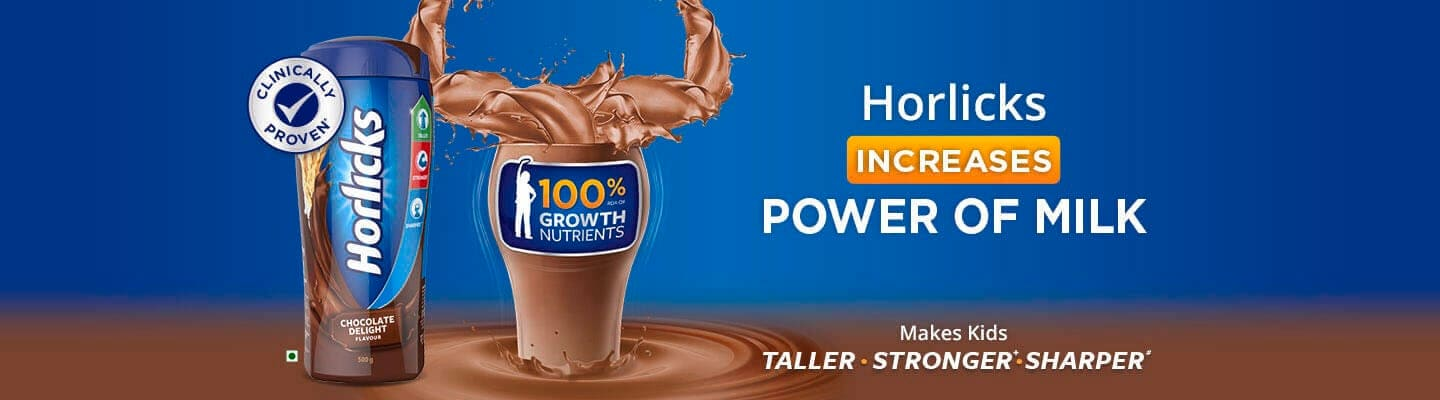 Horlicks Increases Power of Milk